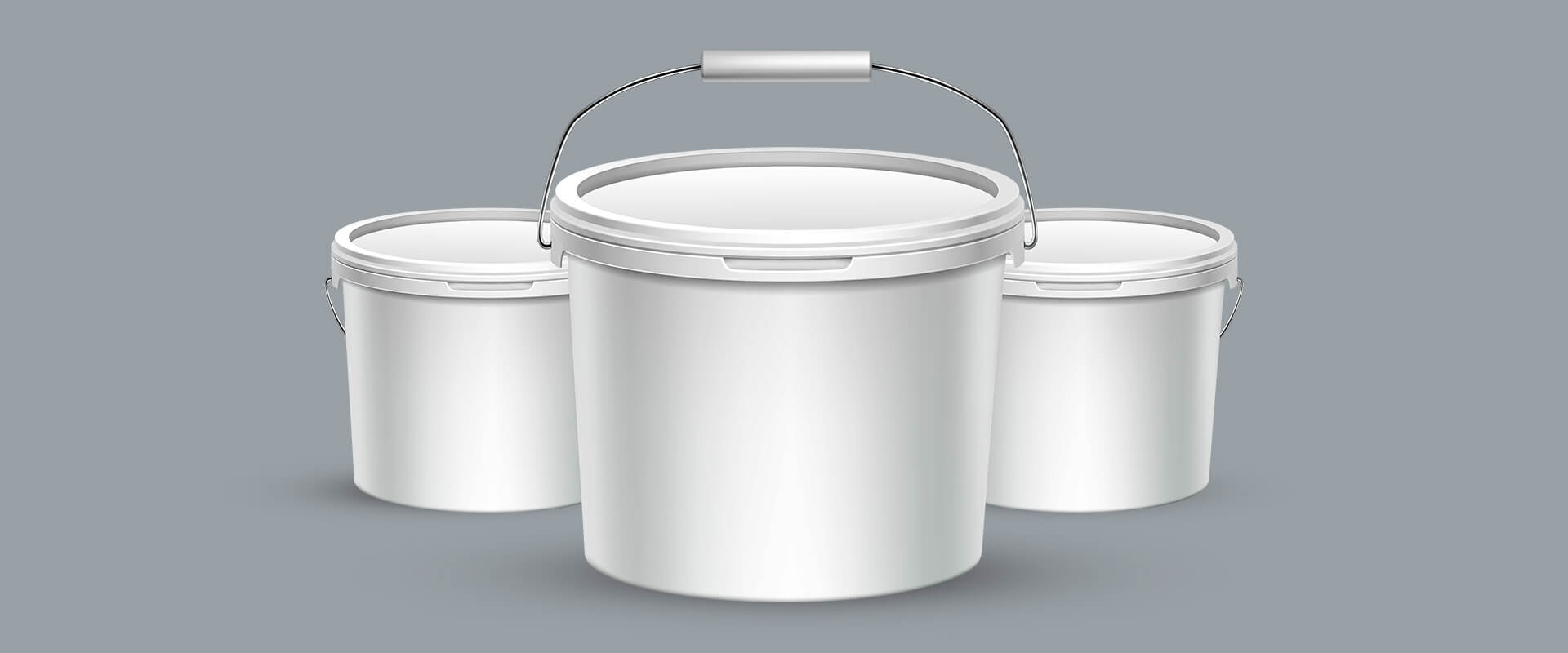 White Pale Container Masterbatches Application