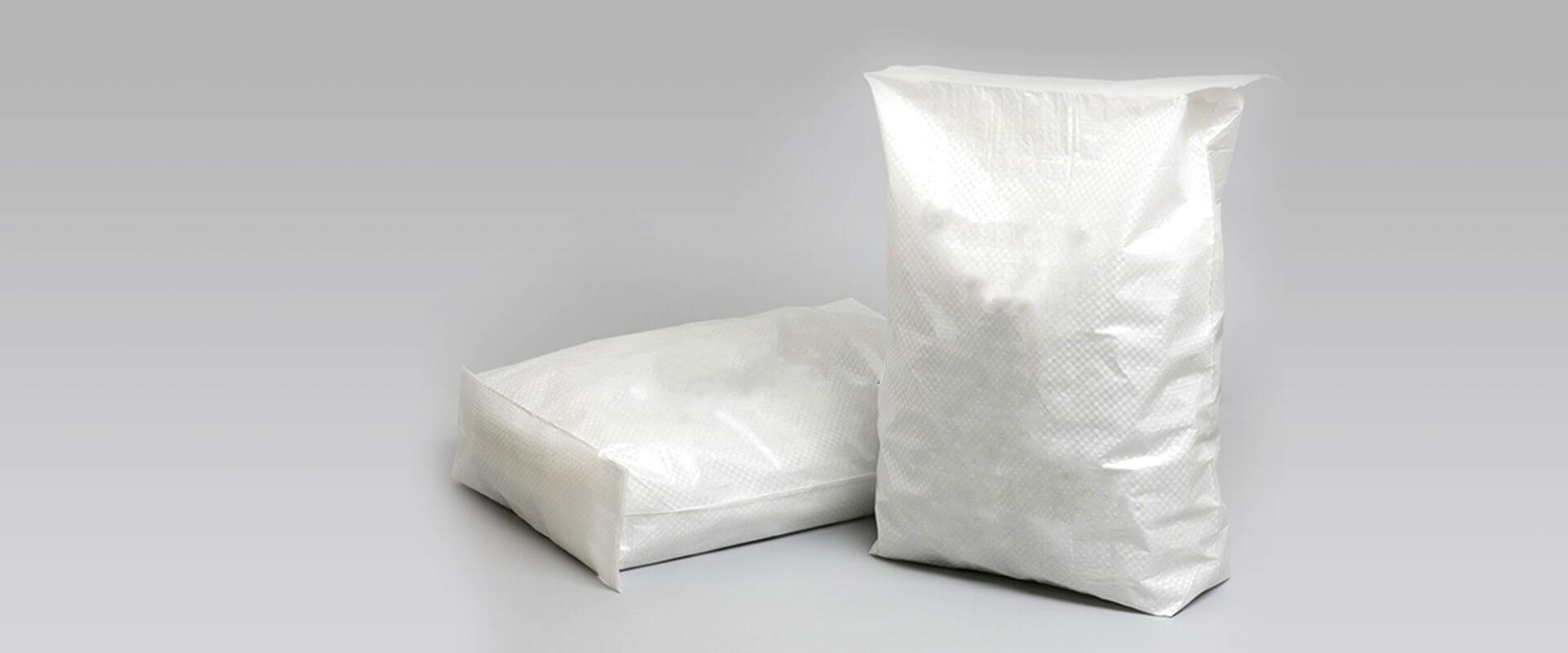 White Woven Sack Masterbatches Application